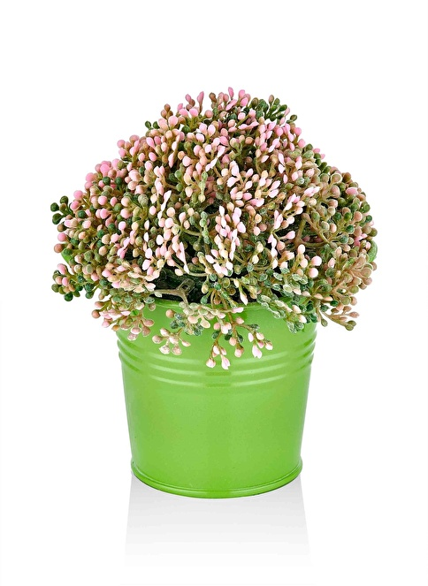 The Mia Yapay Çiçek - 15 Cm Yeşil
